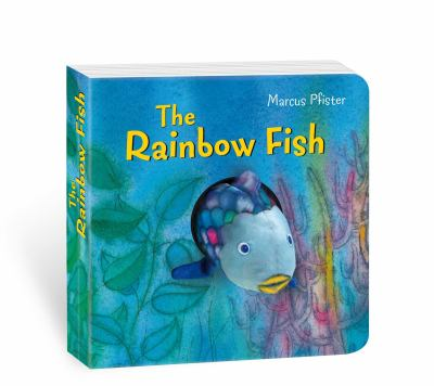 Rainbow Fish Finger Puppet Book 9780735840843