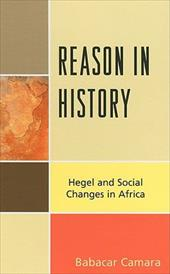 Reason in History: Hegel and Social Changes in Africa