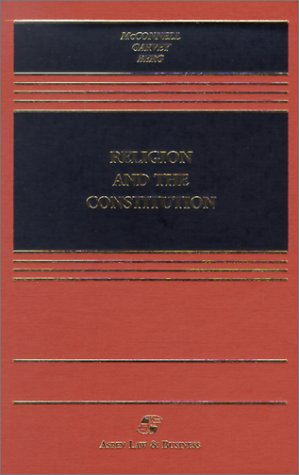 Religion and the Constitution [With Teacher's Manual] 9780735528413