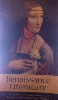 Renaissance Literature 9780737704181