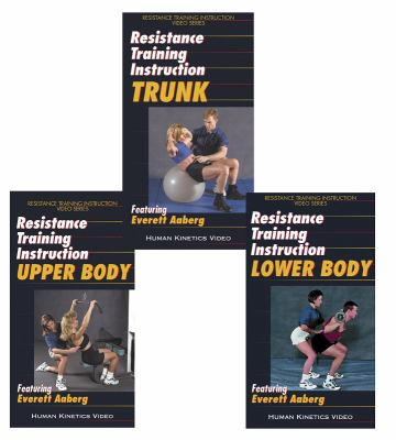 Resistance Training Instruction Video Series Package - Ntsc 9780736038607