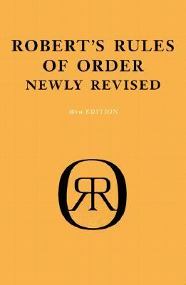 Robert's Rules of Order 10th Edition 9780738203843