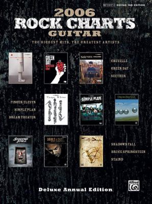 Rock Charts Guitar: The Biggest Hits, the Greatest Artists 9780739039960