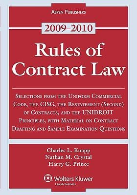 contract law exam 2010 Information about the study aids and past exams available at the hugh f macmillan law library.
