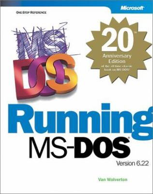 Running MS-DOS 20th Anniversary Edition 9780735618121