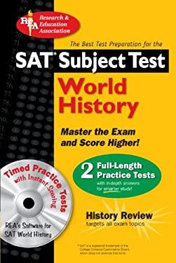 SAT Subject Test: World History [With CDROM] 9780738602516