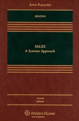 Sales: A Systems Approach 9780735576452