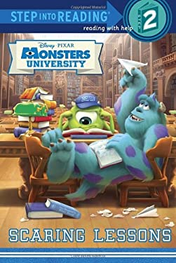 Scaring Lessons (Disney/Pixar Monsters University) (Step into Reading) 9780736430357