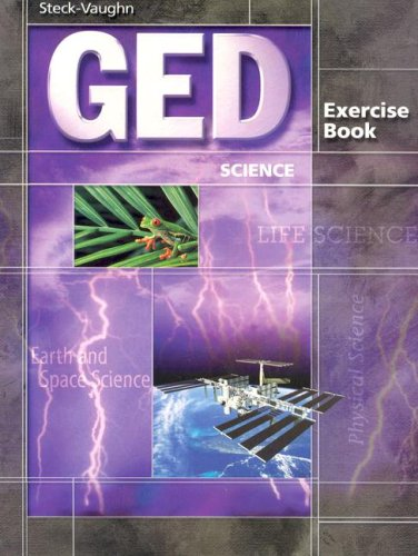 Steck-Vaughn GED Exercise Books: Student Workbook Science 9780739836026