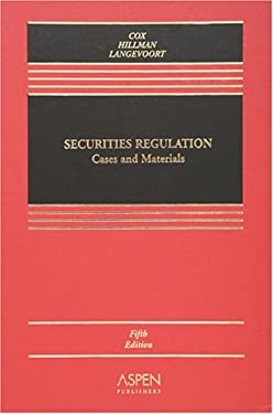 Securities Regulation: Cases and Materials 9780735559608