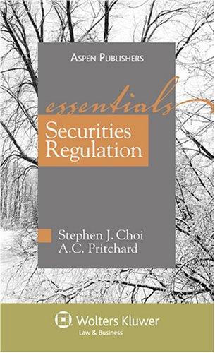 Securities Regulation 9780735565517