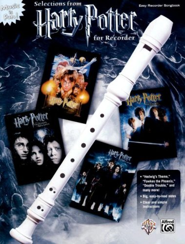 Selections from Harry Potter for Recorder 9780739047460