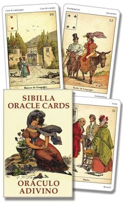 Sibilla Oracle Cards/Oracula Adivino 9780738713052