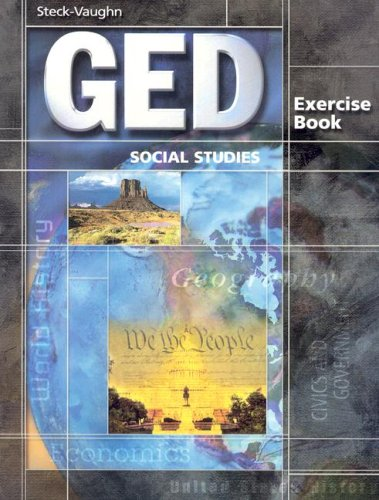 Steck-Vaughn GED Exercise Books: Student Workbook Social Studies 9780739836057