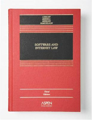 Software and Internet Law 9780735558649