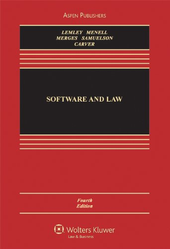 Software and Internet Law, Fourth Edition 9780735589155