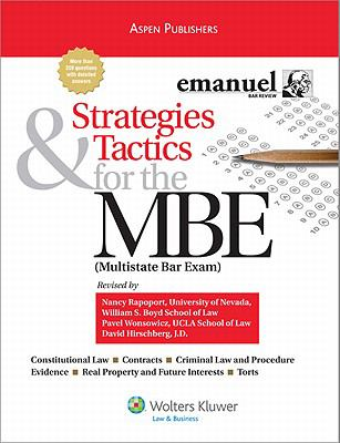 Strategies & Tactics for the MBE 9780735570634