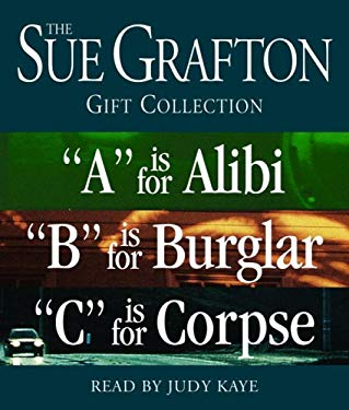 """Sue Grafton ABC Gift Collection: A is for Alibi, """"B"""" Is for Burglar, """"C"""" Is for Corpse"""
