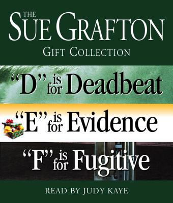 "Sue Grafton Def Gift Collection: ""D"" Is for Deadbeat, ""E"" Is for Evidence, ""F"" Is for Fugitive"