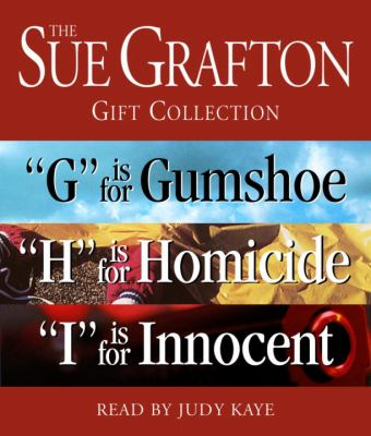 Sue Grafton Ghi Gift Collection: