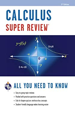 Super Review Calculus, 2nd Edition 9780738611068