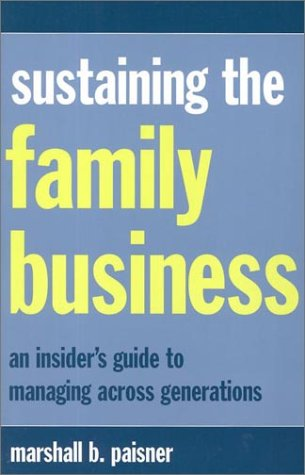 Sustaining the Family Business 9780738203201