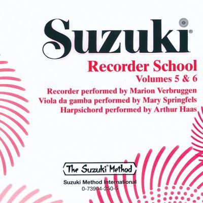 Suzuki Recorder School, Volumes 5-6 9780739042502