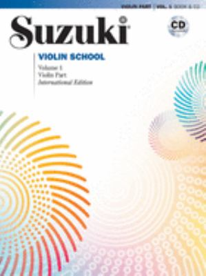 Suzuki Violin School: Violin Part, Volume 1 [With CD] 9780739048115