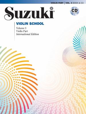 Suzuki Violin School, Volume 3: Violin Part [With CD (Audio)] 9780739048177