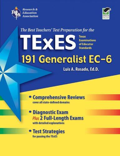 TExES Generalist EC-6 (191) Book + Online (TExES Teacher Certification Test Pre