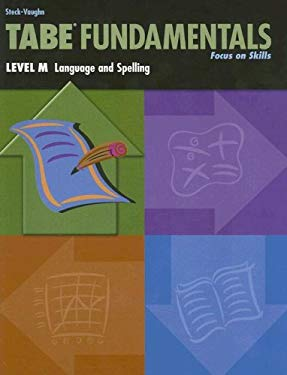 Tabe Fundamentals: Level M, Language and Spelling 9780739880043