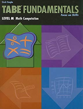 Tabe Fundamentals, Level M, Math Computation 9780739880203