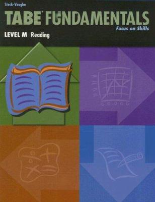 Tabe Fundamentals, Level M Reading: Focus on Skills 9780739880012