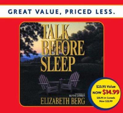 Talk Before Sleep 9780739312216