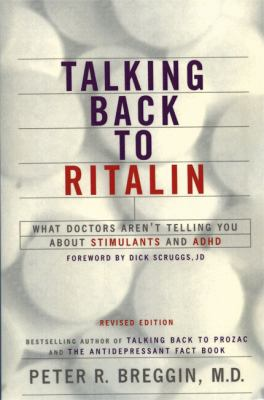 Talking Back to Ritalin 9780738205441