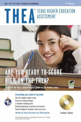 THEA: Texas Higher Education Assessment [With CDROM] 9780738609676
