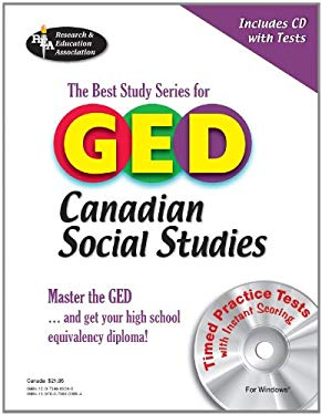 The Best Study Series for GED Canadian Social Studies [With CDROM]
