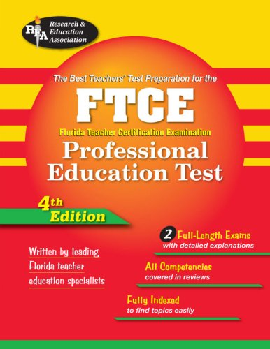 The Best Teachers' Test Preparation for the FTCE Professional Education Test 9780738602806