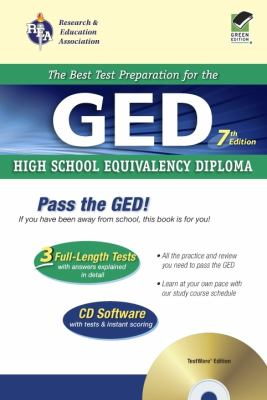 GED W/ CD-ROM [With CDROM] 9780738600437
