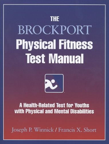 The Brockport Physical Fitness Test Manual 9780736000215
