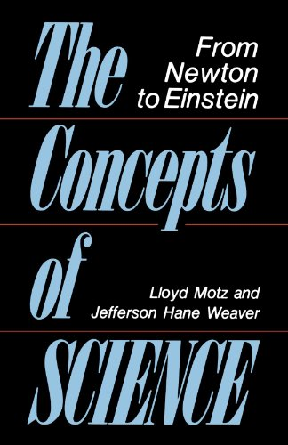 The Concepts of Science: From Newton to Einstein 9780738208343