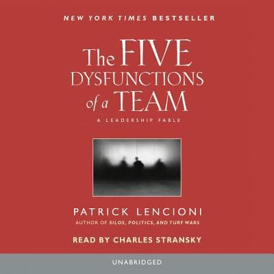 The Five Dysfunctions of a Team 9780739332573