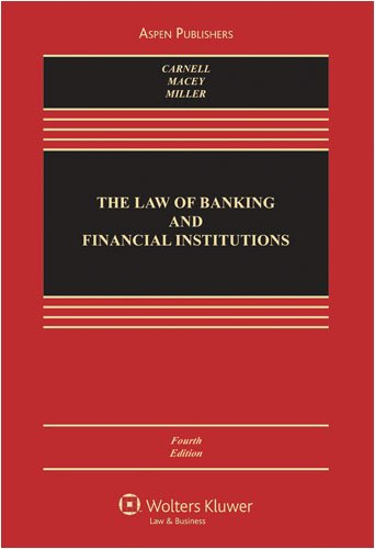 The Law of Banking and Financial Institutions 9780735552852