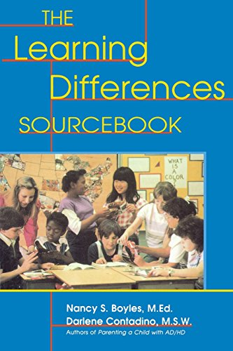 The Learning Differences Sourcebook 9780737300246