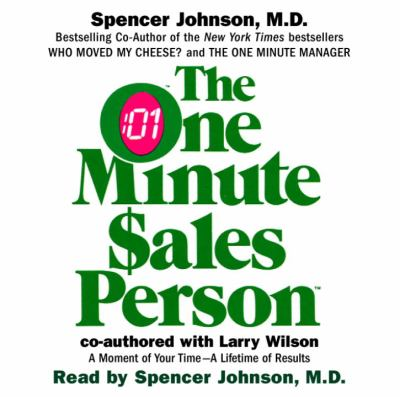 The One Minute Salesperson 9780739307687