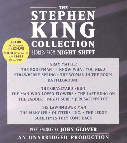 The Stephen King Collection: Stories from Night Shift 9780739317365