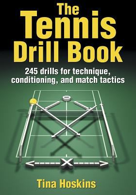 The Tennis Drill Book 9780736049122