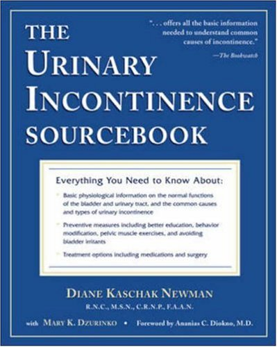 The Urinary Incontinence Sourcebook 9780737302615