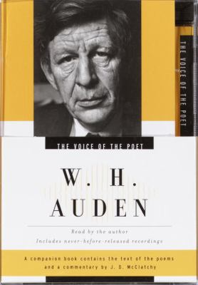 The Voice of the Poet: W.H. Auden [With Book] 9780739308066