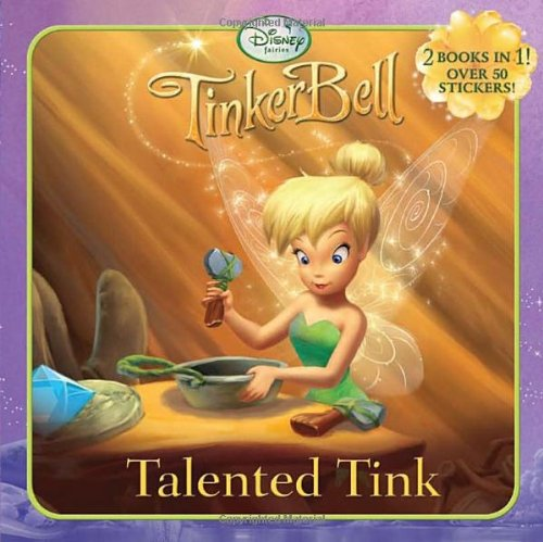 TinkerBell Talented Tink/TinkerBell and the Lost Treasure Terrific Terence [With Sticker(s)] 9780736426558